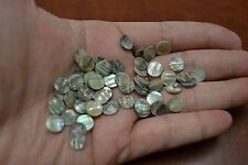 100 PCS ABALONE SHELL POSITION DOTS CABS CABOCHONS 8MM #T-1912