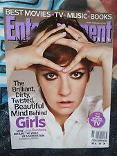 ENTERTAINMENT WEEKLY #1245. LENA DUNHAM COVER. FEB 2013. RARE.