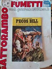 Nuova Collana Pecos Bill N.1 Anno 1970 raro -  Ed.inteuropa buono++