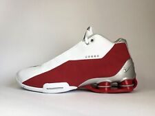 Nike Shox BB4 Men's Size 10.5 Retro Red Basketball Shoes Vince Carter AT7843-101
