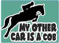 "Horsebox Decal ""My Other Car is a COB"" Window Decal Bumper Car Sticker"