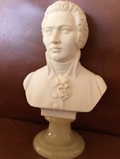 Vintage MOZART COMPOSER  Bust Made In Italy Signed A. GIANNELLI Sculpture