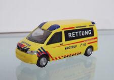 Rietze 53622 - 1:87 - VW T5 GP Emergency medical service Thuringia, ALEMANIA -