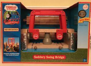 NEW! Thomas & Friends - Suddery Swing Bridge - Rare - Wooden - Great Gift!!