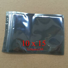 "500pcs 3.93""x5.90"" ESD Packaging Anti Static Bags Self Sealing 10x15"
