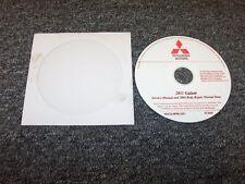 2008 Mitsubishi Galant Service Body Repair Manual DVD ES DE Ralliart 2.4L 3.8L