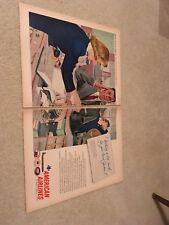 Original 1958 American Airlines Ad