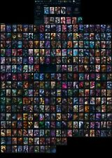 S2 EUW League of Legends account w/ all champs,  310+ skins