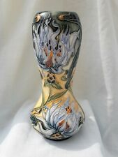 Moorcroft pottery vase Montana Cornflower by Rachel Bishop 92/6 shape.Ltd Ed