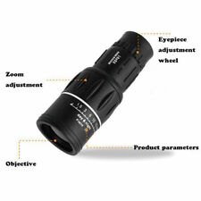Adjustable 16x52 Zoom Dual Focus Monocular Telescope 66M/8000M Phone Holder Kit