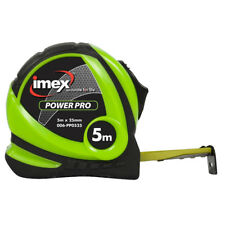 Imex PowerPro 5m Tape Measure 006-PP0525