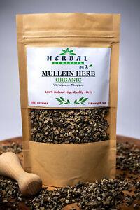 Mullein Leaf Dried Herb Verbascum Dziewanna ORGANIC Cough Bronchitis Cold