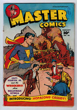 MASTER COMICS #88 4.5 HOPALONG CASSIDY BEGINS 1948 OW/W PAGES