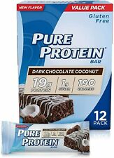 Pure Protein Bars, High Protein Gluten Free, 1.76 Oz, Pack of 12, Many Flavors
