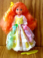 LADY LOVELY LOCKS MAIDEN CURLY CROWN DOLL MATTEL COMPLETE 3 ORIGINAL PIXIE TAILS