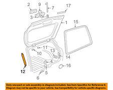 GM OEM Liftgate Tailgate Hatch-Support Strut Left 15003615