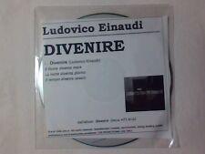 LUDOVICO EINAUDI Divenire cd singolo PR0M0 RARISSIMO