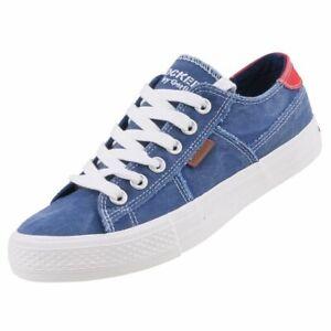 Dockers Damen Canvas Sneaker Halbschuhe Blau 40TH208-790660