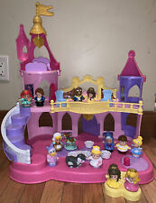 Fisher Price Little People Disney Princess Musical Dancing Palace Ariel Beauty +