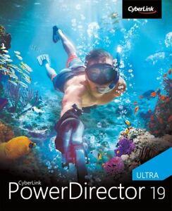 CyberLink PowerDirector 19 Ultra, Download, Windows