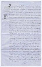 1850 Indenture Transfer to Musgrave from Thomas Bithell of GRESFORD Denbighshire