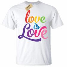 Kid's Pride T-Shirt   3 - 13 yrs   Love is Love