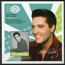Grenada 2018 MNH Elvis Presley His Life in Stamps 1v S/S III Music Famous People