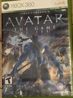 Avatar: The Game (Microsoft Xbox 360, 2009) Complete CIB Manual TESTED FAST SHIP