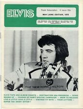 Elvis Presley Fan Club Magazine May/June 1973 AB