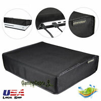 Black Nylon Horizontal Protector Dust Guard Custom Cover for Xbox One S Console