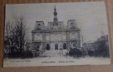 Postcard WW1 Doullens Hotel De Ville Soldier Message on Back