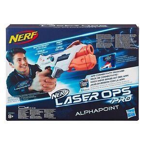 Hasbro NERF Laser Ops Pro ALPHAPOINT Blaster - Battle Ready!