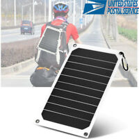 Portable 10W Watts Solar Panel Volt Poly Off Grid Battery Charger 5V USB Output