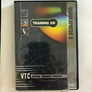 VTC Quark Xpress tutorial Training CD Quarkexpress 6 Virtual Training Company