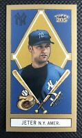 Derek Jeter 2003 Topps 205 Honest MINI #75A With Gold Trim New York Yankees