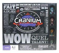 Cranium Wow Board Game Super Rare French Version