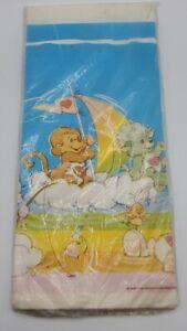 Vintage Care Bear Cousins paper table cloth Care bears Lotsa Braveheart Bright