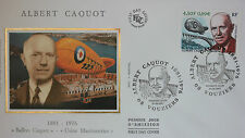 ENVELOPPE PREMIER JOUR - 9 x 16,5 cm - ANNEE 2001 - ALBERT CAQUOT