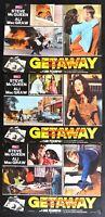 Fotobusta Getaway / Steve Mc Queen Ali Mac Graw Peckinpah B H146