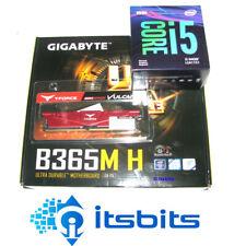 GIGABYTE B365M H MOTHERBOARD + INTEL i5-9400F SIX CORE 2.9Ghz 1151 + 8GB DDR4