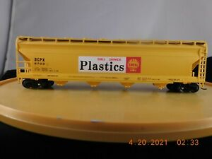 Bachmann HO Scale 55' ACF Covered Hopper Shell Chemical Plastics