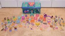 Littlest Pet Shop Storage Case Organizer w 44 Collectible Toys + 50 Accessories