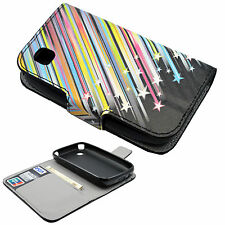 Flip Leather Cell Phone Wallet Pocket Stand Case Cover Shell For LG L40 D160