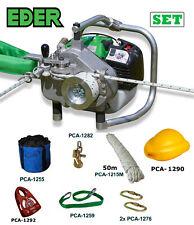 EDER Spillwinde Powerwinch SET- ESW 1200, Forstseilwinde, Motorwinde,Benzinwinde