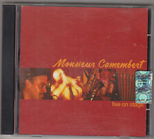 MONSIEUR CAMEMBERT - live on stage CD