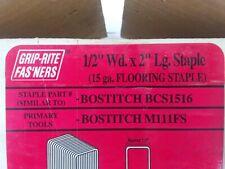 Bostitch Hardwood Flooring Staple Bcs1516 15 Gauge 12 Crown 2 Inch Long
