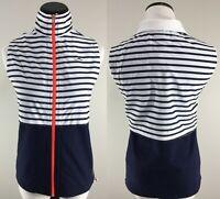 NWT L-RL Ralph Lauren Active Vest Size M Womens Jacket Sleeveless Full Zip NEW