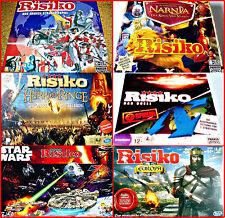 RISIKO DEUTSCHE VERSIONEN AUSWAHL: EUROPA, STAR WARS, NARNIA, HERR DER RINGE,