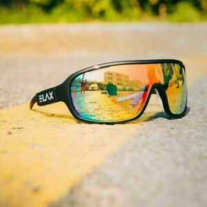Outdoor Cycling Glasses Mountain Bike Goggles Bicycle ELAX Sunglasses Men Women