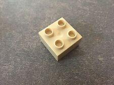 LEGO ® Duplo Brick 2x2 #3437 tan beige 4862 5635 3774 10584 10804 5813 5816 5543